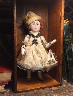 The Captain's Daughter handmade original art doll/marionette by SusanHopkirkFolkArt on Etsy