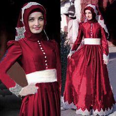 Baju Gamis Satin Melisa Hijab Rdb.135 Online dan Murah - http://www.bajugamisku.com/baju-gamis-satin-melisa-hijab-rdb-135