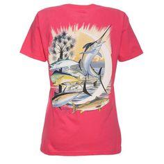 Guy Harvey Women's Palmetto Moon T-shirt