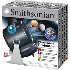 Room planetarium and dual projector, a dual function planetarium brings the nighttime sky into your room, a rotating star pattern of the northern sky is projected with hd space images.