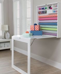 See more images from wrapping paper storage hacks on domino.com