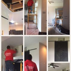 #mrhandyman3379  Remodeling a whole living room.  #painting #drywall #texture #color #handymanlife  #handymanlanllc #handymanservices  #katy #houston