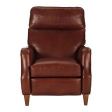Want to add some style to your home office? The Aiden Leather Recliner is classy and comfortable! #HomeOffice #LoveMyHome #DesignInspiration