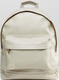 •Website: http://www.cuteandstylishbags.com/portfolio/mi-pac-light-gray-tumbled-backpack/ •Bag: Mi-Pac Light Gray Tumbled Backpack