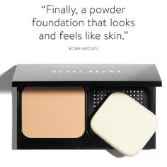 Bobbi's new Skin Weightless Powder Foundation