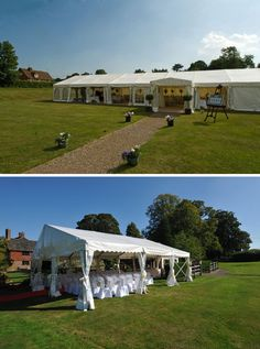 Brewerstreet Farmhouse, a marquee wedding and reception venue in Surrey   Visit wedding-venues.co.uk