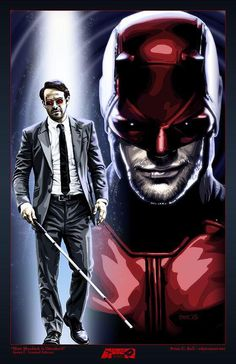 Daredevil by Brian C. Roll @OdysseyArtTorch