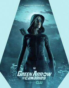 Mia Queen - Green Arrow and The Canaries Arrow Cw, Arrow Oliver, Team Arrow, Arrow Tv Series, Cw Series, Legends Of Tomorrow Cast, Arrow Flash, Vigilante, Netflix