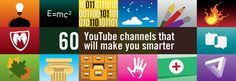 60 YouTube channels that will make you smarter — Startups, Wanderlust, and Life Hacking — Medium