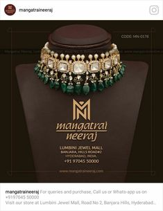 Jewelry OFF! Get the best collection from India In Polki and kundan jewellery Indian Wedding Jewelry, Indian Jewelry, Bridal Jewelry, Silver Jewelry, Silver Earrings, Quartz Jewelry, Gold Choker, Emerald Jewelry, High Jewelry