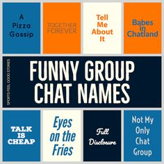 gay group chat name ideas