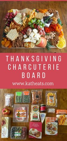 Thanksgiving Charcuterie Board - Kath Eats Real Food