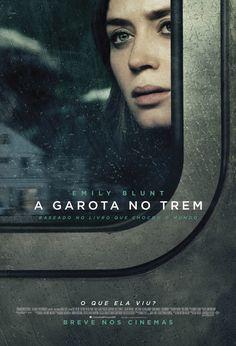 A Garota No Trem, suspense baseado no best-seller de mesmo nome, chega aos cinemas em 27 de outubro!