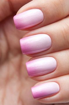 35 Amazing Ombre Nails that You Must Try | LOVIKA #pink
