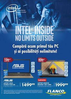 Catalog Flanco 21 Februarie - 03 Martie 2017! Oferte si recomandari: Laptop Asus X540LA-XX813D, Intel Core i3-5005U, 4GB DDR3, SSD 128GB, Intel HD Graphics