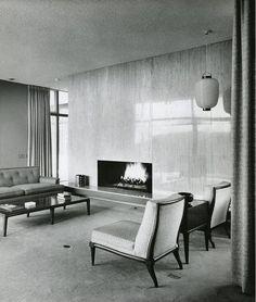 Hurley Residence, Lake Hollywood CA (1958) | Greta Magnusson-Grossman | Photo : John Hartley