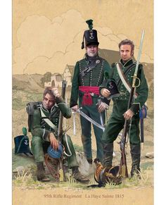 95th Rifles - Le Haye Sainte, 1815