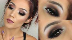 Perfect Fall Look : Dark Cranberry Eyes I Makeup Tutorial #thanksgiving #holiday #makeup #look