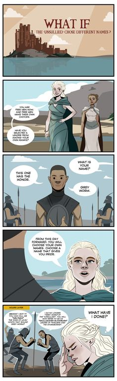 Game of Thrones - What if... by Dynamaito.deviantart.com on @deviantART
