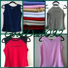 ladies girls t-shirts  top vest sleeveless tank slim blouse striped t-shirts