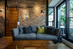 10 Creative Industrial Apartment Decor Ideas For Your Urban Getaway New Taipei City Industrial Loft Industrial Apartment, Industrial Interiors, Apartment Interior, Industrial Furniture, Home Interior Design, Interior Architecture, Vintage Industrial Decor, Industrial Style, Industrial Decorating