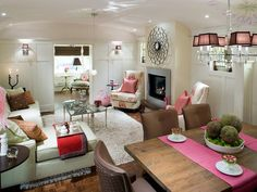 Decorating Ideas for basements, family rooms