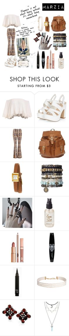 """Marzia Bisognin"" by jordyia ❤ liked on Polyvore featuring Sans Souci, Gucci, Olivine, Dolce Vita and Humble Chic"