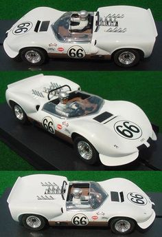 Vintage Monogram slot cars | scale slot car, ready to run on all 1/32 scale non-digital tracks. Car ...