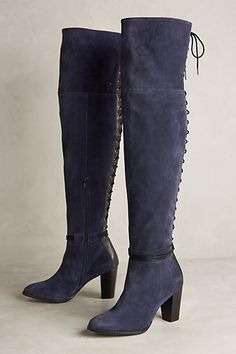Lien.Do Toro Lace-Back Boots #anthropologie
