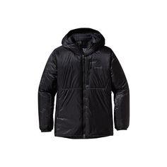 Men's Patagonia DAS Parka 84102 - Black Winter Jackets ($299) ❤ liked on Polyvore featuring men's fashion, men's clothing, men's outerwear, men's coats, black, mens parka coats, mens long parka, mens hooded long coat, mens hooded parka and mens lightweight trench coat
