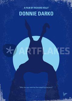 """""""No295 My Donnie Darko minimal movie poster"""" Grafik/Illustration von chungkong jetzt als Poster, Kunstdruck oder Grußkarte kaufen.."""