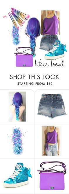 """""""unicornhairstyle"""" by nkarapur ❤ liked on Polyvore featuring beauty, River Island, In Your Dreams, Miss KG and Dolce&Gabbana"""