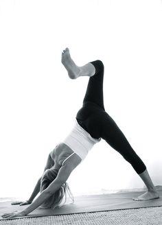 yoga, did this last night...