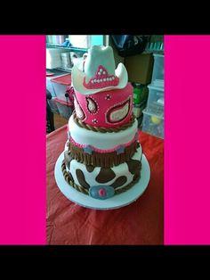 Pink western cake!