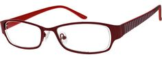 7712 Stainless Steel Full-Rim Frame with Acetate Temples