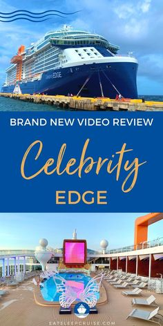 Celebrity Edge was the first cruise ship to sail from the U.S. in 15 months. This premium cruise ship offers several unique venues, multiple eateries, and innovative entertainment. Of course, we just had to be on this historic sailing with Celebrity Cruises. Did the cruise ship live up to our high standards? We share everything from this recent trip in our exclusive Celebrity Edge cruise review video. Cruise Checklist, Packing List For Cruise, Cruise Tips, Cruise Travel, Cruise Vacation, Cruise Reviews, Cruise Destinations, Celebrity Cruises, Sailing