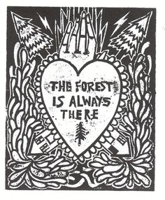 the forest 1 by ~lemaddy on deviantART Jute, Season Of The Witch, Woodland Creatures, Red Riding Hood, My Happy Place, Artsy Fartsy, Screen Printing, How To Draw Hands, Illustration Art