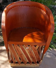 Merveilleux Standard Equipale Rustic Mexican Leather Back Chair