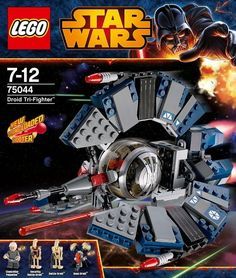 LEGO 75044 STAR WARS Droid Tri-Fighter (Sealed unopened) good deal on a sweet set of lego