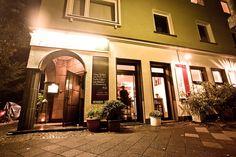 Das Restaurant Aubergine von außen