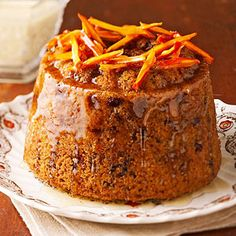 steaming fig pudding