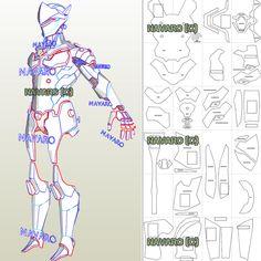 Armor Cosplay, Iron Man Cosplay, Batman Cosplay, Cosplay Diy, Cosplay Ideas, Iron Man Suit, Iron Man Armor, Pepakura Iron Man, Genji Cosplay