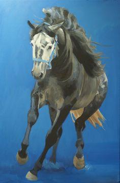 'Enterado', oil on canvas, Renske Schuilenga