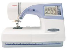 Janome Memory Craft 9500 w/ 5 Yr Ext Wnty.       i want.