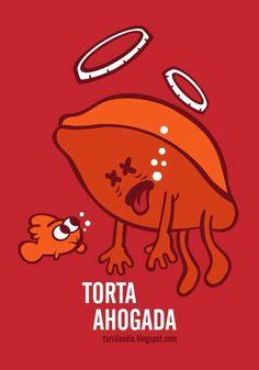 Torta Ahogada - Happy drawings :)