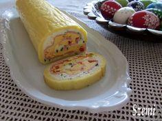 Ez a sajttekercs régebben elmaradhatatlan része volt a húsvéti és a szilveszteri asztalunknak, mindenki szerette. Aztán sok év kihagyá...