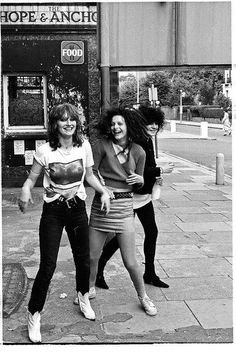 The Slits photographed by Micke Borg, 1978.