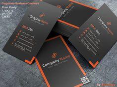 Corporate Business Card 007 by khaledzz9.deviantart.com on @deviantART