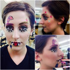 Bellus Academy make-up artistry students practiced Avantgarde in class this week! #bellusacademy