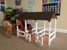 3-Stall Horse Stable | Do It Yourself Home Projects from Ana White